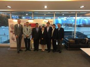 Dr. Tamura visit DKSH Thailand