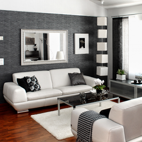 Black and White Room Decorating Ideas