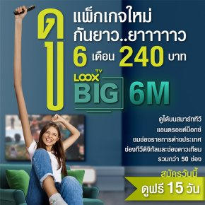 Package LOOX TV BIG 6M