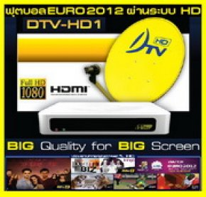 DTV-HD1 Satellite HDTV receiver box