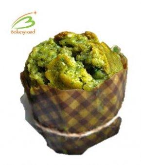 มัฟฟิน ชาเขียว ถั่วแดง (Green Tea and Red Bean Muffin)