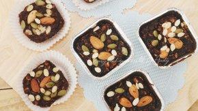 บราวนี่ฟักทอง (Healthy pumpkim Brownies)
