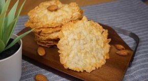 อัลมอนด์ตูเล่/คุกกี้ฝรั่งเศส (Almond Tulies/French Cookies)