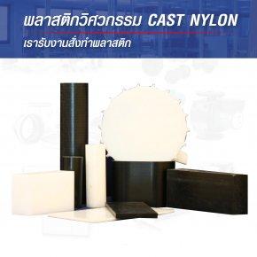 พลาสติกวิศวกรรม Cast Nylon