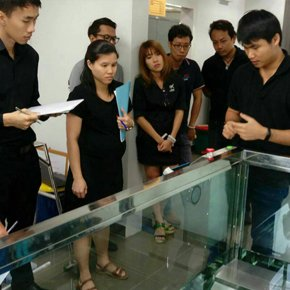 "Hospital where was installed ""AquaTrek"" Under Water Treadmill in Thailand"