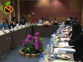 การประชุมขับเคลื่อนการดำเนินงานสถานประกอบการปลอดบุหรี่