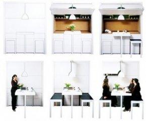 ชุดห้องครัว All in One สำหรับบ้านคนเนื้อที่น้อย