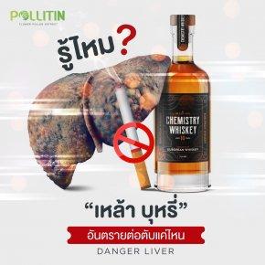 เหล้า บุหรี่ อันตรายต่อตับแค่ไหน