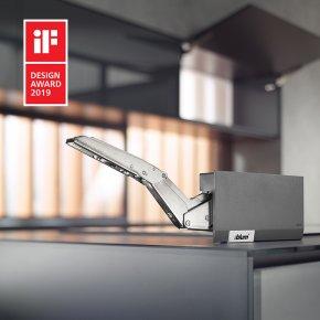 AVENTOS HK top รางวัลด้านการออกแบบสไตล์มินิมอล และมีขนาดการติดตั้งที่เล็ก