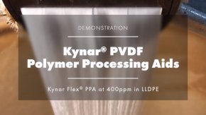 KYNAR PPA for Polyolefins and Other Polymers  :   A Little Something to give you BIG Improvement!