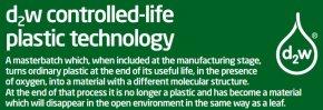 กลไกการทำงานของ เทคโนโลยี Pro-Degradant (d2w)  เพื่อทำพลาสติกให้เป็น Oxo-biodegradable Plastics
