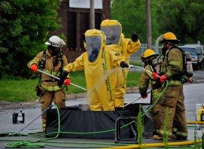 นักดับเพลิง กับ สารเคมีเมื่อเปลี่ยนสภาพเป็นวัตถุอันตราย