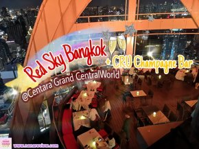 Red Sky Bangkok CRU Champagne Bar