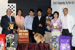 TERRIER CHAMPIONSHIP DOGSHOW 2010