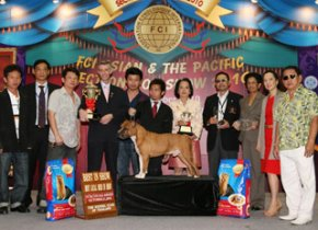 FCI ASIAN & THE PACIFIC SECTION DOG SHOW 2010