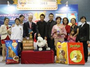THAILAND INTERNATIONAL DOG SHOW 2011(AB2)
