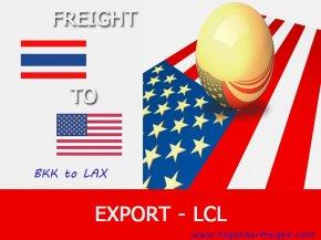 บริการขนส่งสินค้าทั่วไปทางเรือ จากกรุงเทพ ไปลอสแอนเจลีส