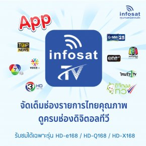 APP INFOSAT TV