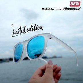 แว่นกันแดด Hipsterkid! รุ่น Golds สี frost
