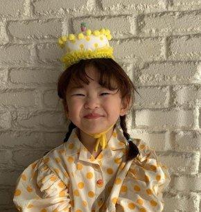 หมวกเค้กวันเกิด Children's hat baby birthday