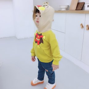 Anpanman hoodie with cool jean