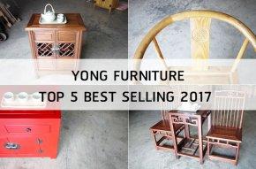 Yong Furniture Top 5 Best Seller 2017