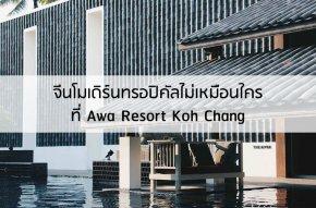 จีนโมเดิร์นทรอปิคัลที่ Awa Resort Koh Chang