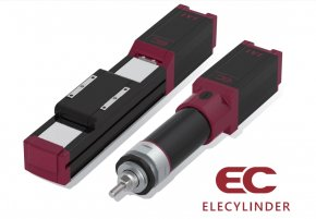 Recommended IAI Elecylinder® New Product Line-up Series