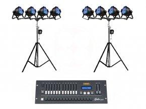 Set 3 เช่าไฟ Par LED แบบเล่นสี