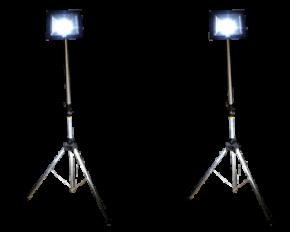 SET 1 เช่าไฟสปอตไลท์ LED 50 วัตต์ แสงขาว