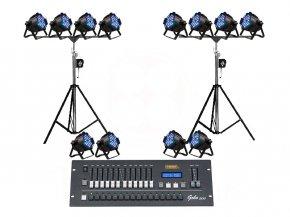 Set 5 เช่าไฟ Par LED แบบเล่นสี
