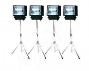 Set 6 ไฟสปอตไลท์ กำลังไฟสูง 400 วัตต์ แสงขาว