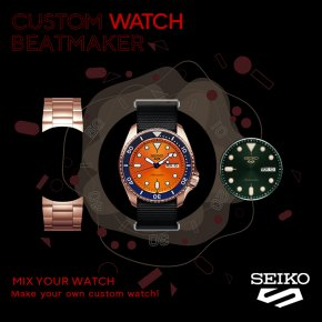Seiko 5 Sports: Custom Watch Beat Maker