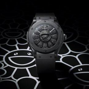 นาฬิกา HUBLOT CLASSIC FUSION TAKASHI MURAKAMI ALL BLACK