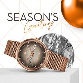 """ส่งต่อความรู้สึกดีในเทศกาลแห่งความสุข ด้วยการมอบ """"เวลา"""" ที่มีค่าจาก Mido เป็นของขวัญให้คนที่เรารัก"""