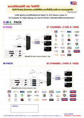 Digital TV Solution S-M-E Pack by HSTN