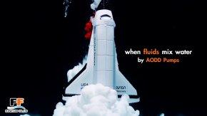 when fluids mix water by AODD Pumps (FLOWFLUID CO.,LTD.)