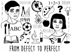 FROM DEFECT TO PERFECT/THE PERMANENT PROJECT,100% NON PROFIT TO CHILD SUPPORT