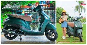 Yamaha GRAND FILANO HYBRID รถสามัญประจำบ้าน สีใหม่ สวย ประหยัด ตอบโจทย์วัยรุ่นยุคใหม่ ...เด็กไทยทุกคน