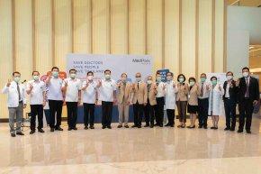 โรงพยาบาลเมดพาร์คเปิดตัวโครงการ  'Save Doctors, Save People, Save Thailand'  ระดมฉีดวัคซีน 2,116 หมอคลินิก ฟื้นความเชื่อมั่นประชาชน