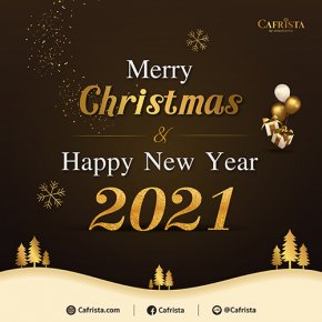 Merry Christmas and Happy New Year. Season's greetings. Our best to you during the holidays.