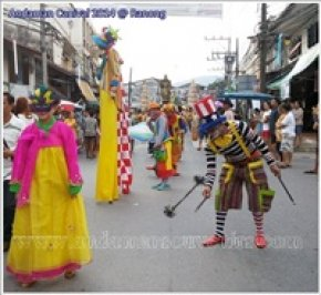 Parade of Andaman Carnival @ Walking Street