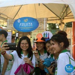 Fruita ร่วมสนับสนุนงาน Freshy Fest @KU