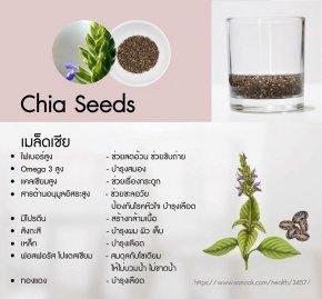 เมล็ดเชีย (Chia Seed)