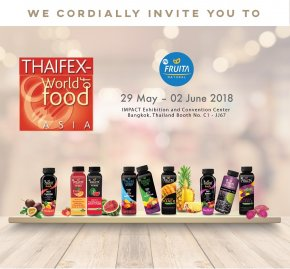 Thaifex - โลกของอาหารเอเชีย 2018