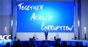 การต่อต้านการทุจริตในโลกแห่งการเปลี่ยนแปลง Together Against Corruption