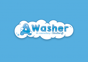 """Awasher"" Logo Design"