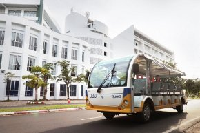 มหาวิทยาลัยอุบลราชธานี เลือก เอช เซม รถชมวิวไฟฟ้า  เป็นส่วนหนึ่งของ มหาวิทยาลัยสีเขียว