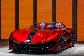 """เอ็มจี เปิดตัวรถต้นแบบแห่งโลกอนาคต  """"MG Cyberster""""ในงานShanghai Auto Show 2021"""