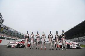 Toyota Corolla Altis GR Sport ตอกย้ำสมรรถนะและความทนทาน รักษาแชมป์สองปีซ้อน และอันดับ 3 รุ่น Super Production 3 ท่ามกลางสภาพอากาศแปรปรวน เป็นอุปสรรคต่อการแข่งขัน ในรายการ ADAC Total 24h-Race Nürburgring ณ ประเทศเยอรมัน